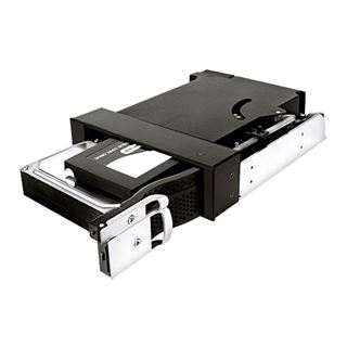"RaidSonic ICY BOX IB-172SK-B schwarzer 5,25"" Wechselrahmen"