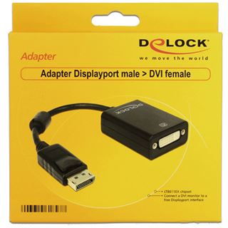 Delock Displayport 1.1 Adapter Displayport Stecker auf DVI 24+5