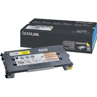 Lexmark Toner 0C500H2YG gelb