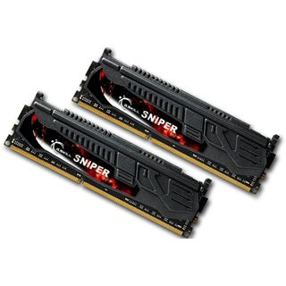 8GB G.Skill SNIPER DDR3-1866 DIMM CL9 Dual Kit