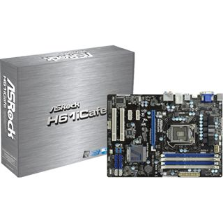 ASRock H61iCafe Intel H61 So.1155 Dual Channel DDR3 ATX Retail