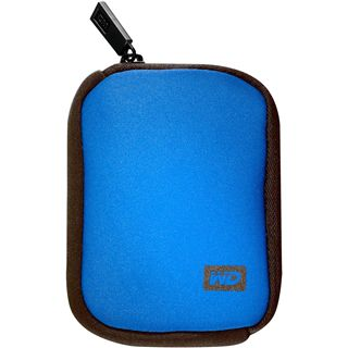 WD MY PASSPORT CARRYING CASE blau