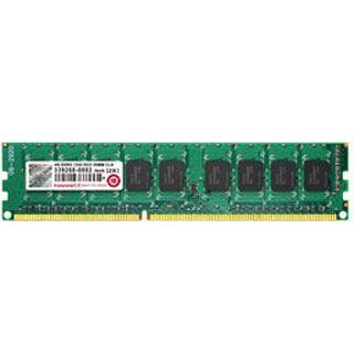 4GB Transcend Value DDR3-1333 ECC DIMM CL9 Single