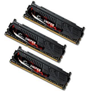 12GB G.Skill SNIPER DDR3-1600 DIMM CL9 Tri Kit