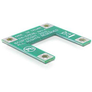 Delock Half-Size > Full-Size Konverter für Mini PCI Express