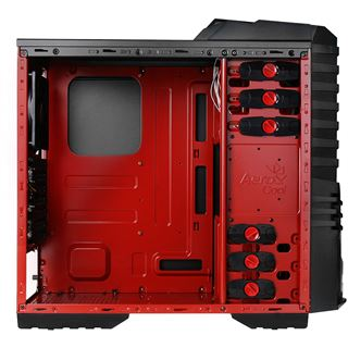 AeroCool X-Warrior Devil Red Edition Midi Tower ohne Netzteil