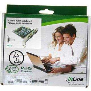 InLine 76622C 3 Port PCI zweites Slotblech retail