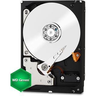 "2000GB WD Green WD20EARX 64MB 3.5"" (8.9cm) SATA 6Gb/s"