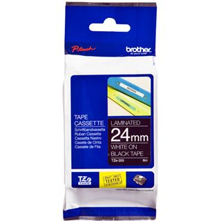 Brother TZE-355 LAMINATED TAPE 24mm 8m