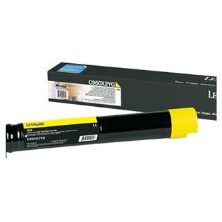 Lexmark Toner gelb C950
