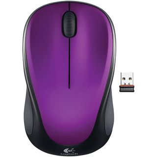 Logitech M235 Wireless optische USB Maus violett