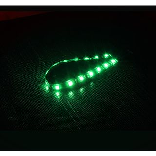 BitFenix 15x 30 cm grün LED-Strip für Gehäuse
