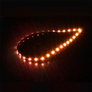 BitFenix 60cm oranger LED-Strip mit 30 LEDs für Gehäuse