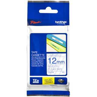 Brother TZE-133 LAMINATED TAPE 12mm 8m