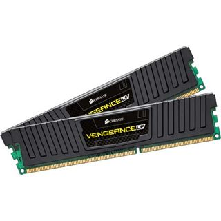 4GB Corsair Vengeance LP schwarz DDR3-1600 DIMM CL9 Dual Kit