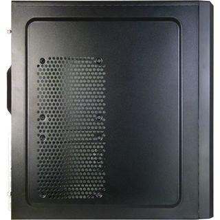 Inter-Tech Sunlight SL-101 Midi Tower ohne Netzteil schwarz