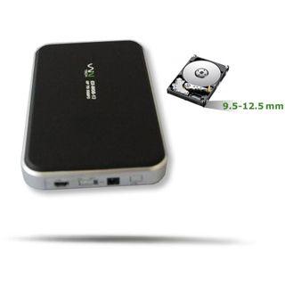 "WinTech EX-MOB-13 2.5"" (6,35cm) USB 3.0 schwarz"