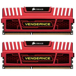 8GB Corsair Vengeance rot DDR3-1866 DIMM CL9 Dual Kit