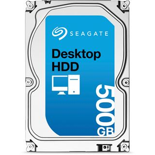 "500GB Seagate Desktop HDD ST500DM002 16MB 3.5"" (8.9cm) SATA 6Gb/s"