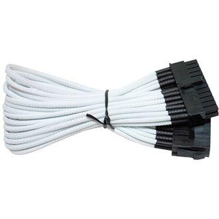 NZXT weißes 25cm 24-Pin Verlängerungskabel für