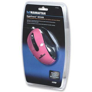 Manhattan RightTrack USB pink (kabelgebunden)