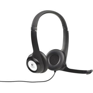 Logitech USB Headset H390 schwarz