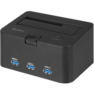 Sharkoon SATA Quickport H3 USB 3.0 Dockingstation für 2.5""
