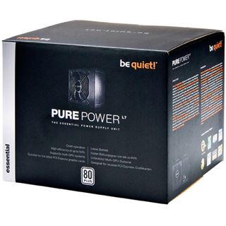 630 Watt be quiet! Pure Power L7 Non-Modular 80+