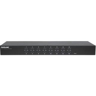 Intellinet 506496 16-fach Rackmount KVM-Switch