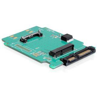 Delock SATA auf mSATA Konverter für mSATA SSD (61881)