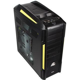 Akasa VenomToxic Big Tower ohne Netzteil schwarz/gelb
