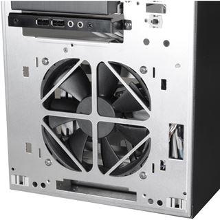 Lian Li PC-8NWB Window Midi Tower ohne Netzteil schwarz