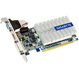 1GB Gigabyte GeForce 210 Passiv PCIe 2.0 x16 (Retail)