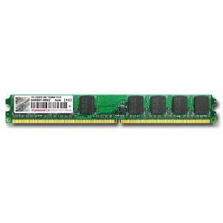 512MB Transcend Value DDR2-667 DIMM CL5 Single