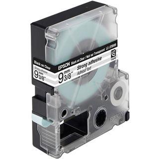 Epson C53S624405 Tape 9mm - Schwarz auf Transparent
