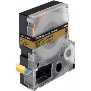 Epson LC-4KBM9 gelb Etikettenkassette (1 Rolle (1.2 cm x 9 m))