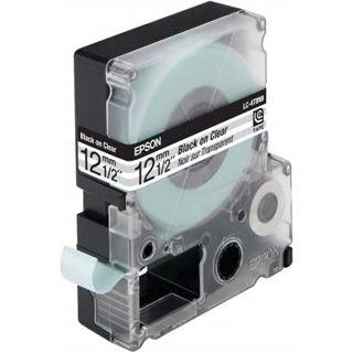 Epson LC-4TBN9 transparent Etikettenkassette (1 Rolle (1.2 cm x 9 m))