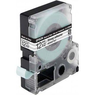 Epson LC-4TBW9 transparent Etikettenkassette (1 Rolle (1.2 cm x 9 m))