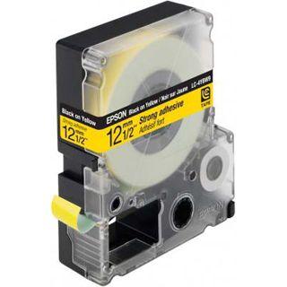 Epson LC-4YBW9 schwarz auf gelb Etikettenkassette (1 Rolle (1.2 cm x