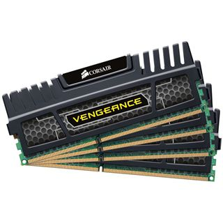 32GB Corsair Vengeance schwarz DDR3-1866 DIMM CL10 Quad Kit