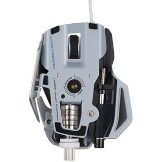 Mad Catz Cyborg R.A.T 7 Contagion Gaming Mouse USB weiß