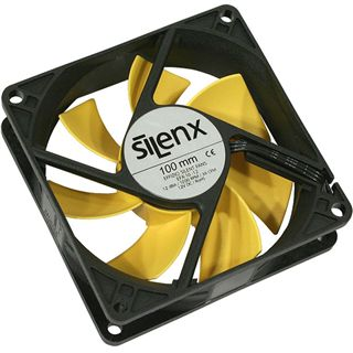 SilenX Effizio Quiet Fan Series 100x100x25mm 1200 U/min 12 dB(A)