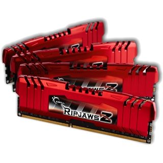 32GB G.Skill RipJawsZ DDR3-1600 DIMM CL10 Quad Kit