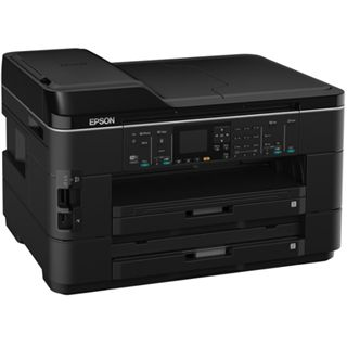 Epson WorkForce WF-7525 Tinte Drucken/Scannen/Kopieren/Faxen LAN/USB