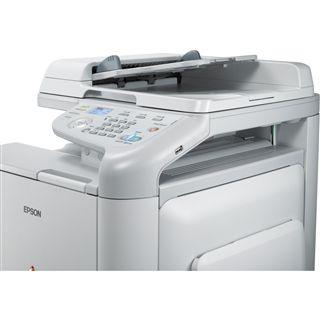 Epson CX37DTNF Farblaser Drucken/Scannen/Kopieren/Faxen LAN/USB 2.0