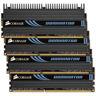 32GB Corsair Dominator DHX DDR3-1600 DIMM CL10 Quad Kit