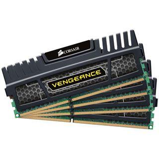 32GB Corsair Vengeance schwarz DDR3-1600 DIMM CL10 Quad Kit
