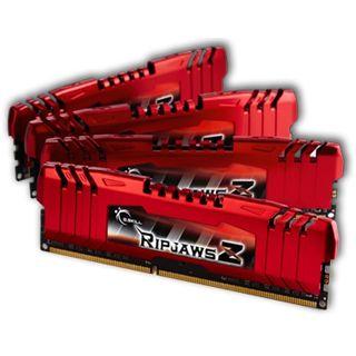 32GB G.Skill RipJawsZ DDR3-1866 DIMM CL10 Quad Kit