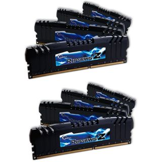 64GB G.Skill RipJawsZ DDR3-2400 DIMM CL10 Octa Kit
