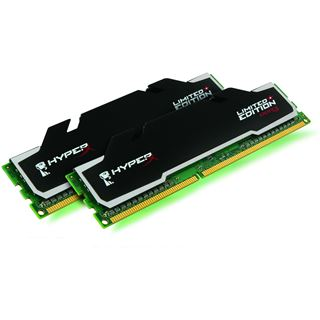 8GB Kingston HyperX Limited Edition DDR3-1600 DIMM CL9 Dual Kit